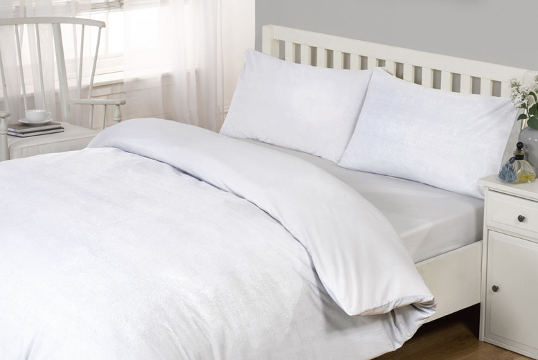 £12 (from Cascade Home) for a pair of hypo-allergenic organic bamboo pillow cases or from £23 for a hypo-allergenic organic bamboo fitted sheet