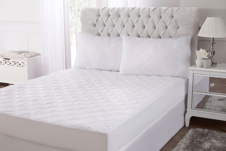 From £14 (from cascade Home) for a luxury bamboo pillow protector, or choose from a range of mattress protectors!