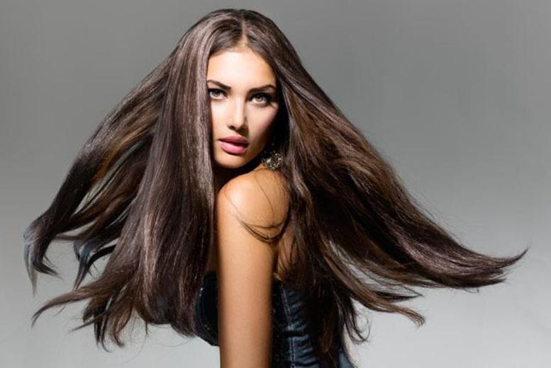 "£89 for a full head of 18"" micro ring human hair extensions at Le Petit Salon, Streatham"
