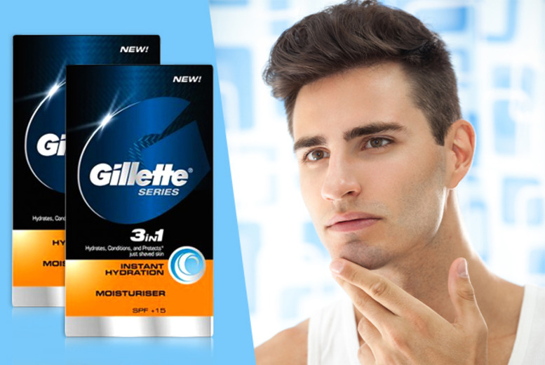 £4.99 instead of £17.98 (from Look 'N' Style) for two 50ml bottles of Gillette Series Instant Moisturiser - save 72%