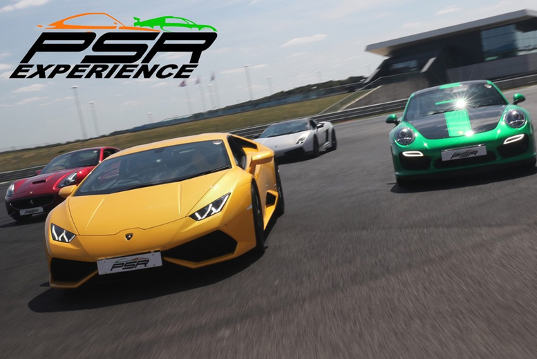 From £19 for a three-lap driving experience, from £37 for six laps, or from £55 for nine laps with PSR Experience - choose from a range of exciting muscle, sports or supercars, at 11 tracks across the UK and save up to 61%