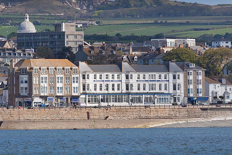 £99 instead of up to £328 (at the Queens Hotel, Penzance) for a 2nt break for 2 including breakfast, a 3-course dinner and cream tea - save up to 70%