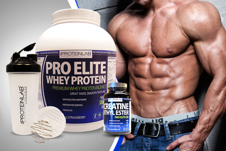 £39 instead of £99.98 (from The Protein Lab) for a whey protein and creatine bundle - save 61%