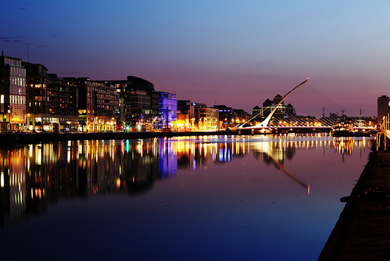 From £89pp instead of up to £203.83pp (from Tour Center) for a 2nt break in Dublin inc. accommodation, breakfa