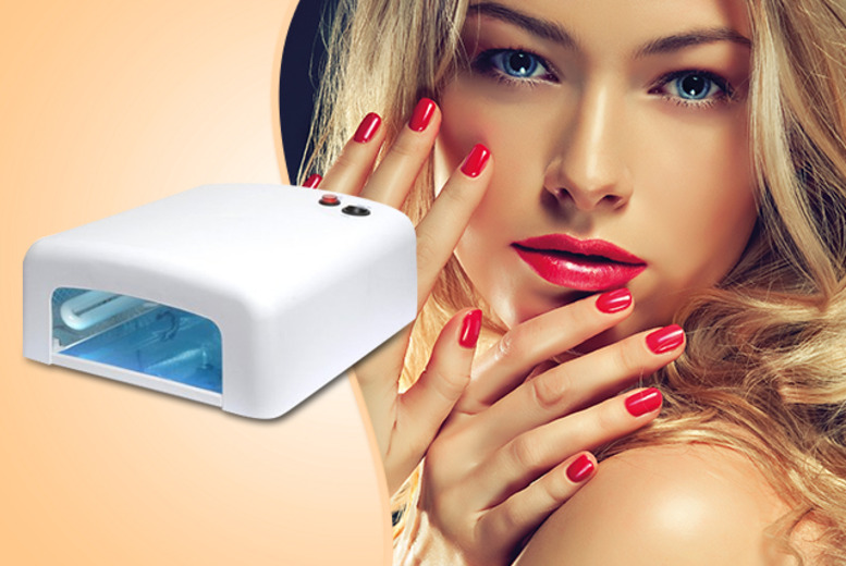 £29.99 instead of £99.99 (from 3 Week Nails) for a 36W home UV nail lamp - polish your look, save 70% + DELIVERY INCLUDED!