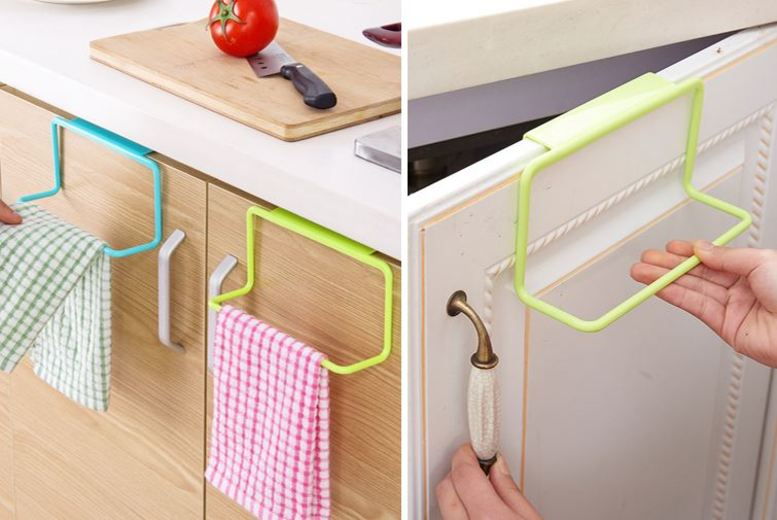 From £5.99 for a tea towel rack - choose from four colours from Secretstorez - save up to 70%