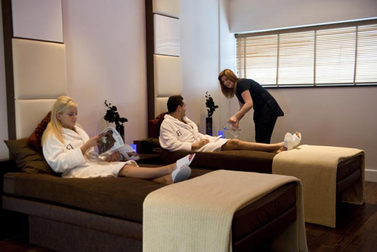 £69 for a midweek spa day for 2 people including two treatments each or £79 for a weekend spa day at The Bannatyne Spa, Edinburgh city centre