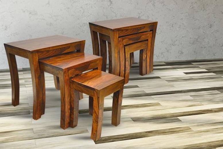 £49.99 instead of £157 (from Furniture Deals) for a nest of three Tuscany tables - save 68%