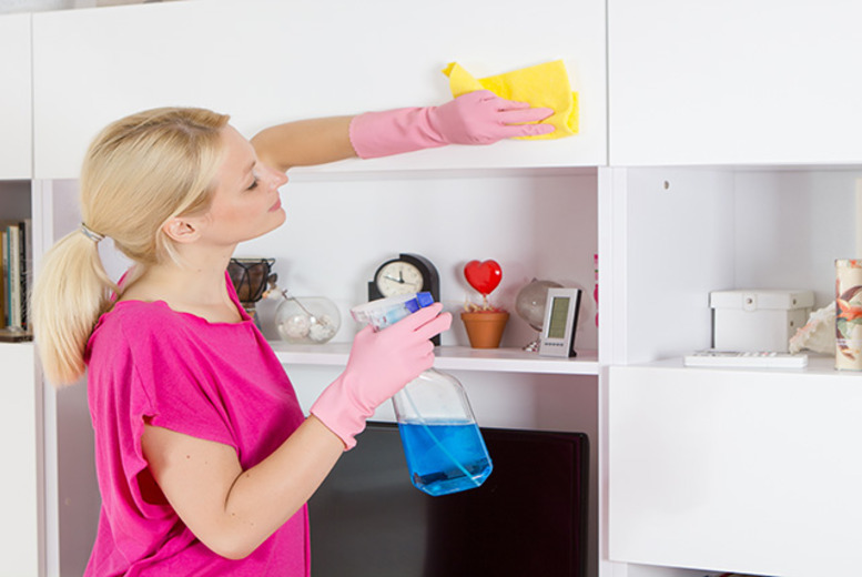 £24 for a 3-hour domestic cleaning service from Spic and Span, Wembley