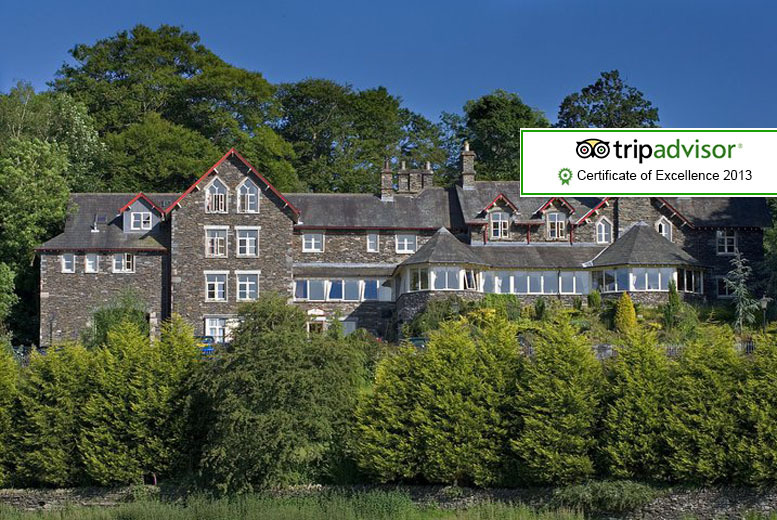 From £129 instead of up to £252 (at Craig Manor Hotel, Windermere) for a 2nt stay for 2 people inc. two-course dinner & breakfast - save up to 49%