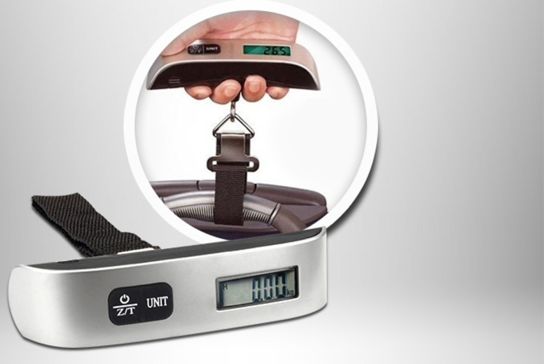 £6.99 instead of £14.99 (from London Exchainstore) for a set of digital luggage weighing scales, £12.99 for 2 - save up to 53%