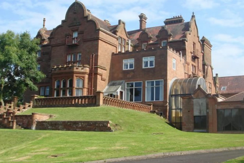 From £39 (at Adamton Country House Hotel, Prestwick) for a 1-night stay for 2 inc. din