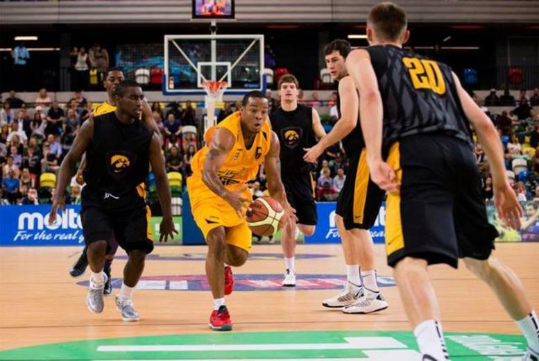 £16 for 2 tickets to see the London Lions vs the Cheshire Phoenix, Worcester Wolves or Plymouth Raiders at the Olympic Copper Box Arena, Stratford - save 39%