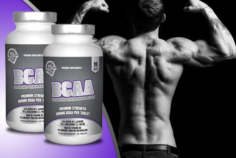 £12 instead of £32.95 (from Real Nutrition Co.) for 90 1000mg Branched Chain Amino Acids tablets, £21 for 180 - save up to 64% + DELIVERY INCLUDED