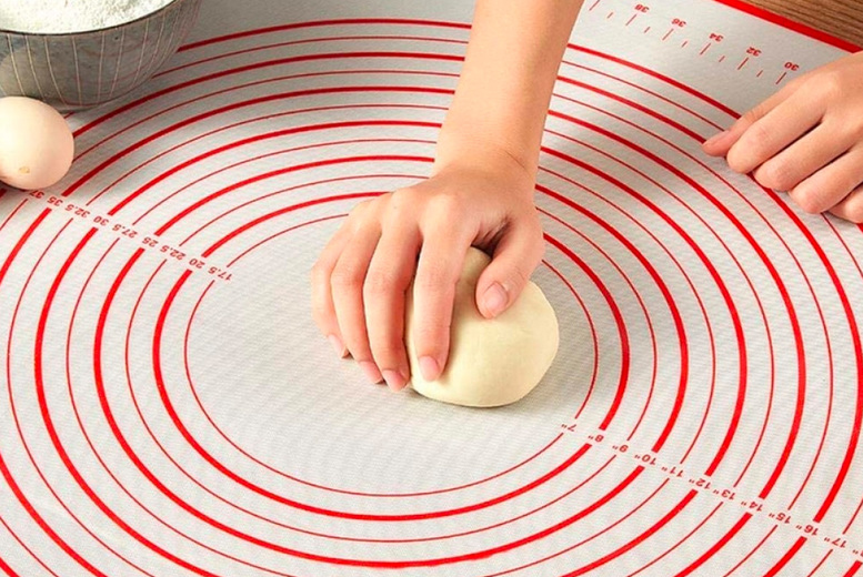 From £6.99 instead of £19.99 (from Wish Imports) for a 60cm x 40cm silicone baking and measuring mat, £7.99 for a 60cm x 60cm mat and £8.99 for a 60cm x 80cm – choose from two colours and save up to 60%