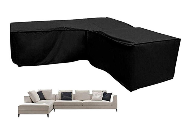 Waterproof Rattan Corner Sofa Protective Cover – 4 Sizes! (£24.99)