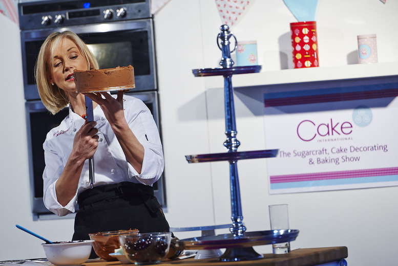 £5 for afternoon half-day entry to the Cake International exhibition on 10th, 11th or 12th April at ExCeL, London
