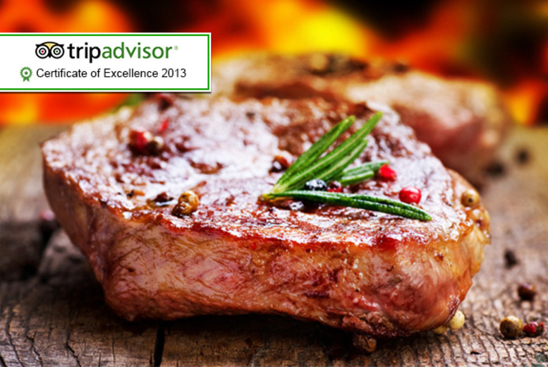 £24 instead of up to £53 for a rib-eye steak dinner and wine for 2 at The 4* Leonard Hotel, Marble Arch - save up to 55%