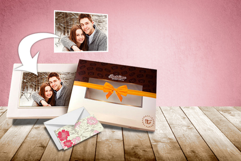 £7.99 instead of £19.10 (from Baldimo.com) for a large personalised milk or white chocolate photograph - save 58%