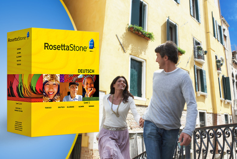 From £59 instead of £179 for a Rosetta Stone Level 1 language course in one of 21 languages from Wowcher Direct - save up to 67% + DELIVERY INCLUDED