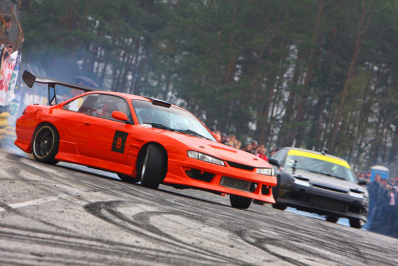 £29 instead of £49 for a drift racing passenger experience, £89 for a drift racing starter experience at Driftland UK, Lochgelly - save up to 41%