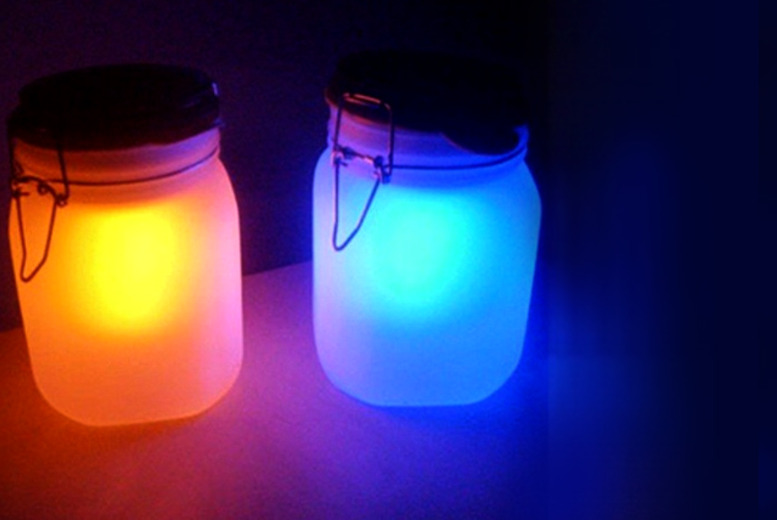 £8.99 instead of £24.99 (from LEDlive.co.uk) for a solar-powered sun and moon jar, £15.99 for 2, £24.99 for 4 - save up to 64%