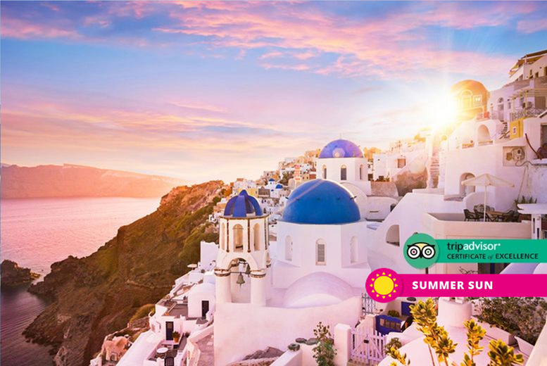From £169pp (from Weekender Breaks) for a three-night Santorini beach break with breakfast and return flights, from £349pp for five nights, or from £449pp for seven nights - save up to 34% from Weekender Breaks