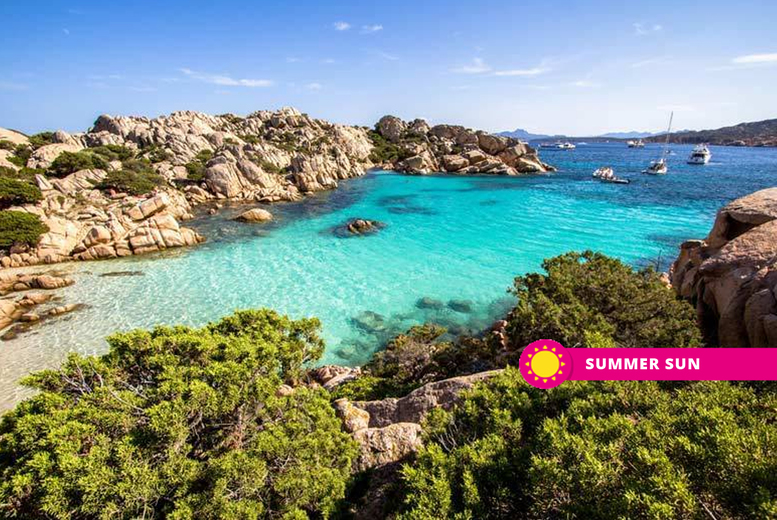 From £99pp (from Weekender Breaks) for a three-night Sardinia, Italy hotel stay with breakfast and return flights, from £179pp for five nights, or from £229pp for seven nights - save up to 45% from Weekender Breaks