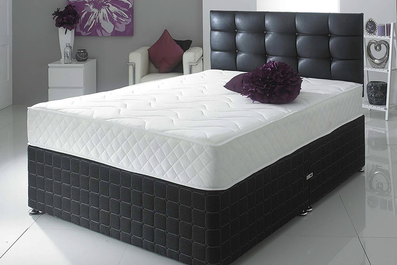 From £49 instead of £119.99 for a Hybrid memory sprung mattress in small single to king sizes from Desire Beds – save up to 59%