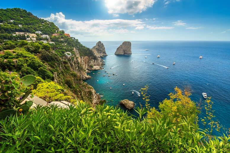 From £149pp (from Weekender Breaks) for a three-night Capri, Italy break with breakfast and flights, from £199 for four nights, from £229pp for five nights, or from £299pp for seven nights - save up to 39% from Weekender Breaks