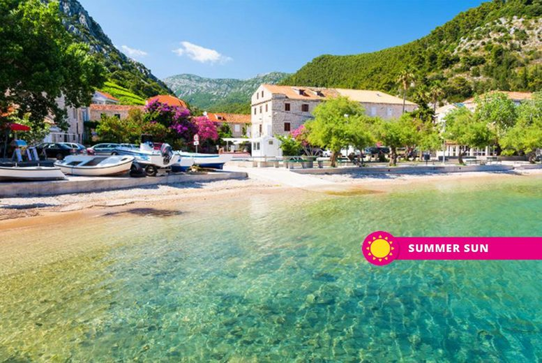 From £129pp (from Super Escapes Travel) for a three-night all-inclusive Croatia beach break with return flights, from £159pp for five nights, or from £239pp for seven nights - save up to 23% from Super Escapes Travel