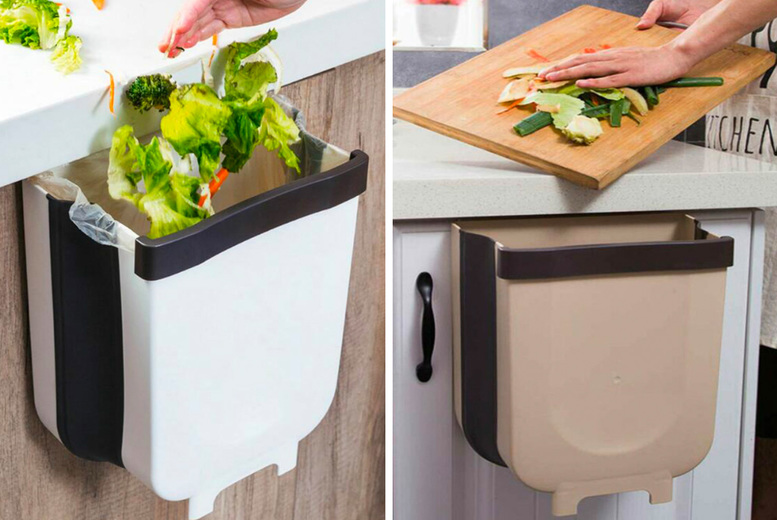 £12.99 instead of £19.99 for a folding kitchen cabinet bin from Topgoodchain - save 35%