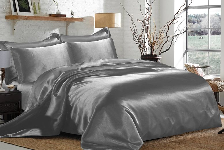 £19.99 for a six-piece double duvet cover set, £22.99 for a king size set or £25.99 for a super king size set in nine colours from Home Decoration World