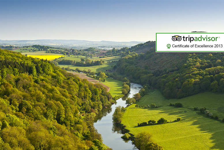 From £69 instead of up to £124 (at The Royal Lodge, Herefordshire) for a 2-night stay for 2 people inc. full English breakfast - save up to 44%