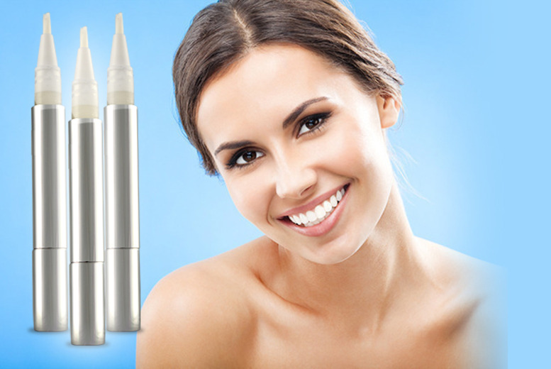 £9.99 instead of £19 (from DVA Boutique) for a teeth whitening pen, or £19 for three pens - save up to 47% + DELIVERY INCLUDED!