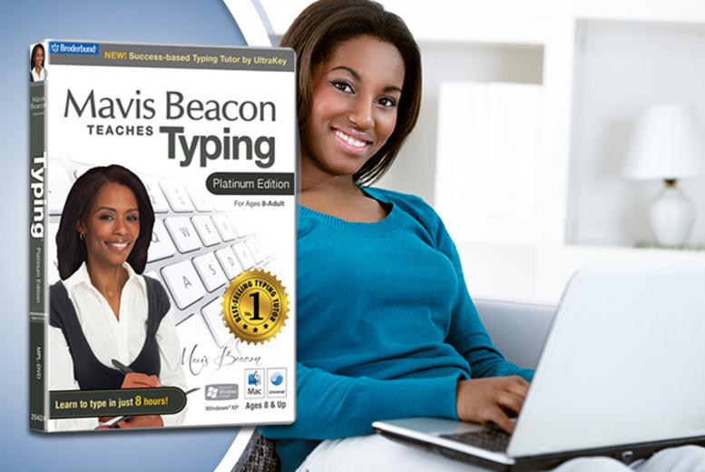 £12 instead of £27.63 (from Avanquest) for 'Mavis Beacon Teaches Typing' Platinum software - type like a pro and save 57%