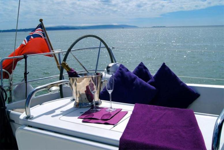 £99pp (with Escape Yachting) for a half-day Solent sailing trip inc. 2-course meal & Champagne or £421pp for an overnight trip - save up to 50%