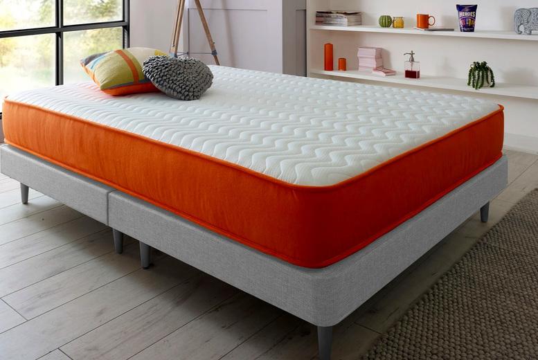£79 for a small single sprung memory foam mattress, £89 for a single, £99 for a small double, £104 for a double or £119 for a king from Driftaway Beds!