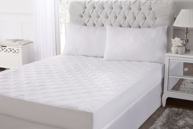 From £12.99 for a microfibre mattress and pillow protector set from Cascade Home!