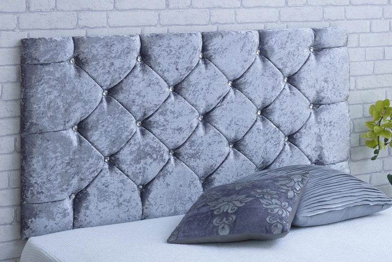 From for a velvet diamante headboard in a choice of black, champagne, cream and more – Serenity Designs!