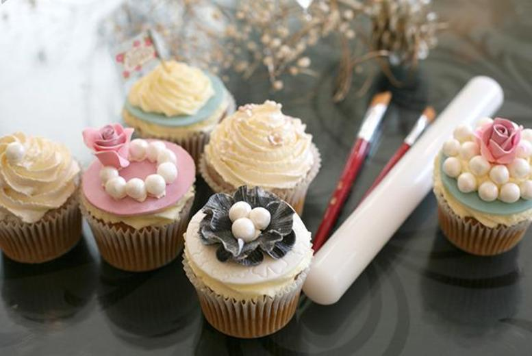 £19 instead of £100 for a 2½hr vintage cupcake decorating masterclass at 3D Cakes, Edinburgh - save 81%