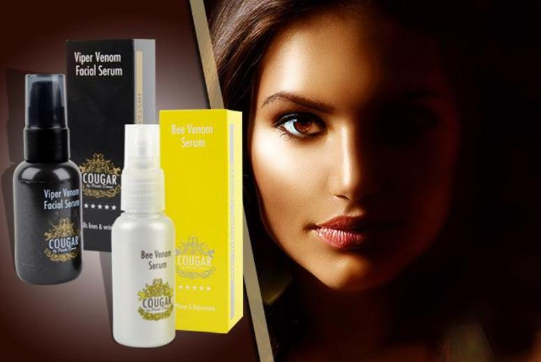£19 instead of up to £162.99 (from Cougar Products) for a pot of snake or bee venom serum, £34 for both - save up to 88%