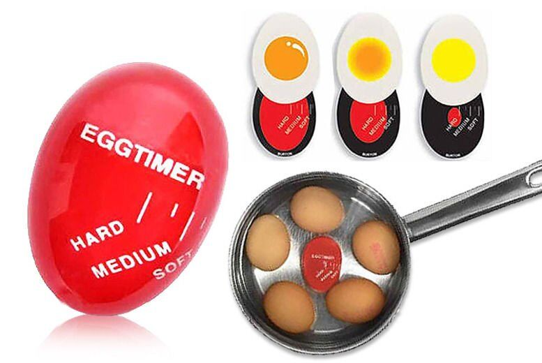 £3.99 instead of £9.99 for a colour changing egg timer from London Exchain Store - save up to 60%