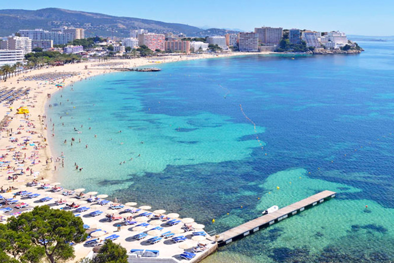 From £59pp instead of up to £160pp (from Major Travel) for a 3-night Magaluf break, from £99pp for 5nts, or from £139 for 7nts - save up to 65%