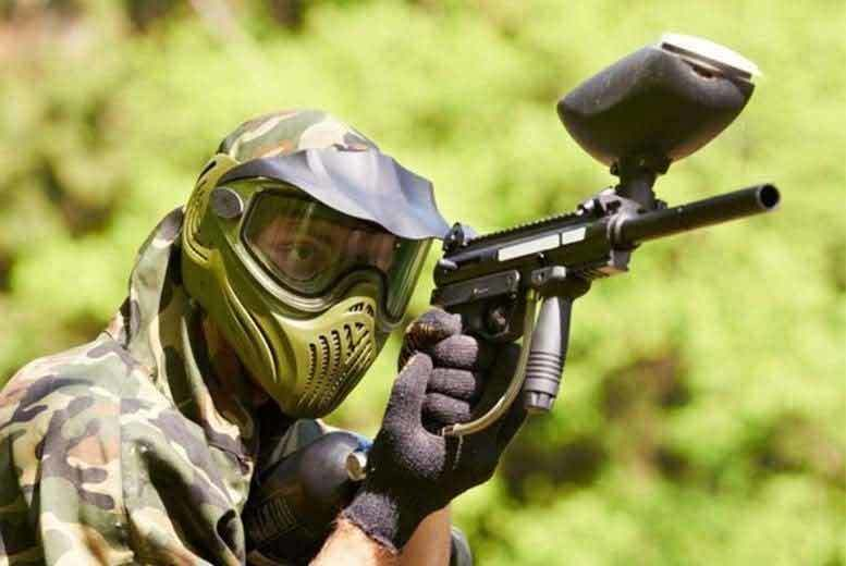 £10 for a three-hour paintballing session for ten people including 100 paintballs each at Mayhem South East - choose from four locations and save 90%