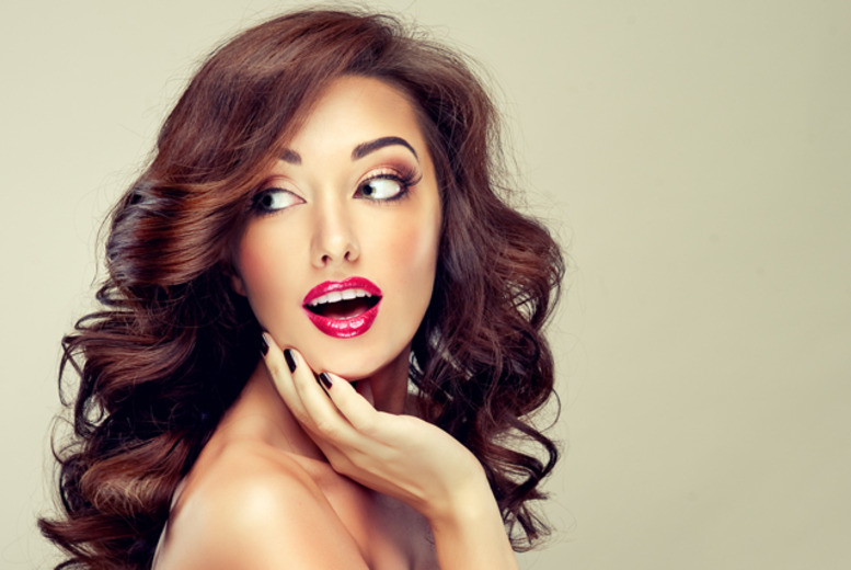 £24 for a ½ head of highlights or full head of colour, plus cut, Moroccan oil treatment and blow dry at Hair, Laser & Beauty by Hawa - save up to 59%