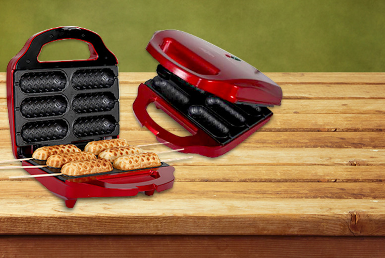 £14.99 instead of £25.99 for a Gourmet Gadgetry snack maker from Wowcher Direct - save 42%