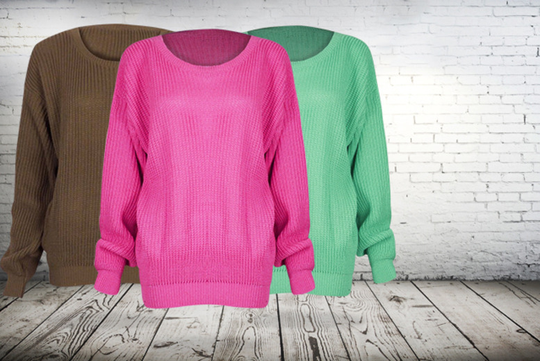 £8.99 instead of £29.99 (from Something About Fashion) for an oversized fisherman jumper in a choice of colours - save 70%