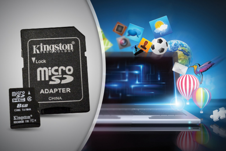 £4.99 instead of £13.99 (from Chimp Electronics) for a 4GB microSD card, £5.99 for 8GB, £8.99 for 16GB or £15.98 for 32GB - save up to 64%
