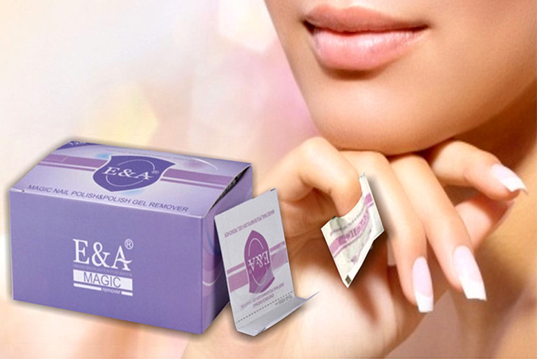 £8 instead of £32 (from Eden Organic Care) for 120 gel nail polish removal wraps - save 75%